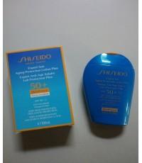 กันแดดหน้าและตัว SHISEIDO Expert Sun Aging Protection Lotion WetForce For Face  BodySize 100 ml.