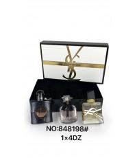 Yves Saint Laurent YSL 3 PCS travel Collection น้ำหอมเทสเตอร์หัวสเปรย์ 30ml.*3 ชิ้น