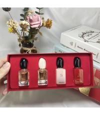 น้ำหอมเทสเตอร์ Giorgio armani for women  7ml.×4 ชิ้น แพคกล่องของขวัญสวยหรู