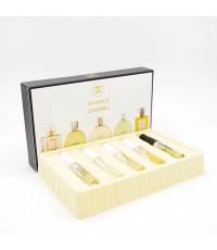 น้ำหอมเทสเตอร์เซต Chanel- Les Parfums Set  แพคเกจแบบหลอดขนาด 5 ml. x5 (ขวดสเปรย์)กล่องหนา