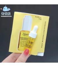 Kiehl\'s Daily Reviving Concentrate ขนาดทอลอง 4 ml.ทรีทเม้นท์ขวดสีเหลือง เนื้อบางเบา
