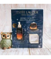 Estée Lauder Travel exclusive repair hydrate brighten renew เซตของขวัญล้ำค่า 8 ชิ้น
