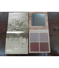 Kylie Jenner The Wet Set 4-color Bronzer  Highlighters Pressed Illuminating Powder Palette