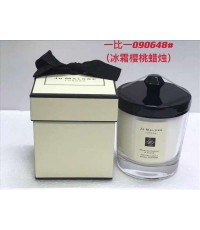 JO MALONE LONDON  Frosted Cherry  Clove Home Candle Limited Edition 200 g.เทียนหอมในโหลแก้ว