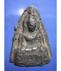 พระพุทธชินราช กรุนครหลวง อยุธยา พิมพ์กลาง เนื้อดำ (ขายแล้ว)