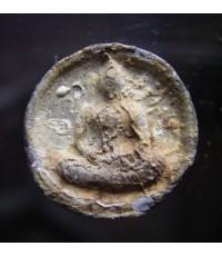 พระจันทร์ลอย หลวงปู่ลำภู วัดบางขุนพรหม ปี 2502 เนื้อผงใบลานบรรจุกรุ (ขายแล้ว)