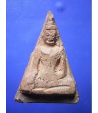 พระนางพญาเนื้อดิน หลวงปู่โต๊ะ วัดประดู่ฉิมพลี ปี 72