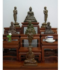 ชุดพระบูชา พิธีอรหันต์แปดทิศ ปี 2523 ของ อ.ชุม ไชยคีรี