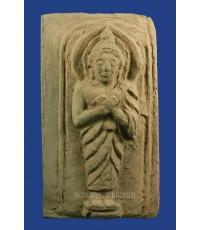 พระบูชาปางรำพึง ประจำวันศุกร์ เนื้อผงกระดูกผี หลวงพ่อเจิม วัดหอยราก ปี 2496 (ขายแล้ว)