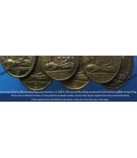 ศึกษาตำแหน่งของโค้ดที่ตอกบนเหรียญรูปเหมือนรุ่นแรก อาจารย์ชุม ไชยคีรี ปี 17