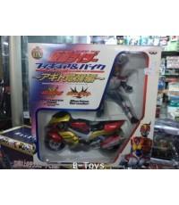 Figure and Bike : Masked Rider Agito and Machine Tornador