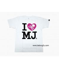 เสื้อยืด Mastermind Japan Mastermind I LOVE MJ T-shirt
