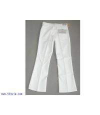 New ลีวาย 646 สีขาว ขาม้า sta-prest USA ปี 1984 W 34 L 32