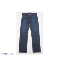 เหมือนใหม่ ลีวาย 511 Slim fit ริมแดง ฟอก USA ปี 2012 เอว 33 .5 ยาว 32