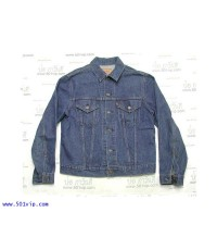 Used Jacket LEVIS 70505 0217 USA ปี 1982 ไซส 42 หรือ L