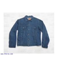 Used Jacket LEVIS big E 70505 0217 USA ปี 1970 ไซส 42 หรือ L