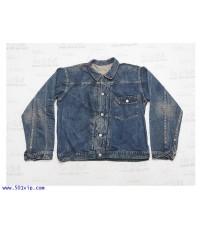 เหมือนใหม่ ลีวาย ย้อนยุครุ่นปี 1936 jacket BIG E 506 ฟอก USA ปี 2004 ไซส L