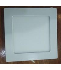 ดาวไลท์ขอบขาว เหลี่ยม 18วัตต์ 8นิ้ว แสงวอร์มไวท์ แอลอีดี LED STL รับประกัน 2ปี
