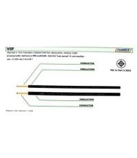 สายไฟ  สายคอนโทรล VSF 50 mm  สีดำ 100เมตร