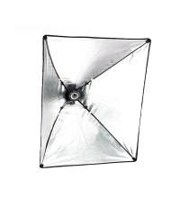 Single Lamp Holder with Softbox 50x70cm