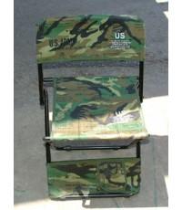 เก้าอี้สนาม,เก้าอี้เดินป่า,เก้าอี้ Outdoor , เก้าอี้แคมป์ปิ้ง , ลายพรางวู๊ดแลนด์ แบบที่ 1