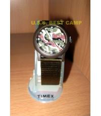 นาฬิกาทหารไทแม็กซ์ลายพราง,Timex Camo US Military Watch