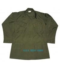 เสื้อกระเป๋าเฉียงรุ่นเวียดนามสีเขียว (เก่าเก็บ),,COAT,MAN\'S OG COTTON WIND RESISTANT