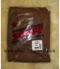 เสื้อซับในทหารอเมริกัน,T-Shirt SOFFE (BROWN / แพ็คละ 3 ตัว)