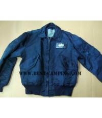 เสื้อแจ็คเก็ตไฟท์,สีน้ำเงิน,คอปก,JACKET-,-FLYER\'S-CWU-45-P(N),ALPHA,NAVY