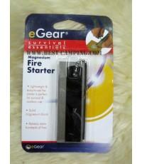 Magnesium , Fire Starter , Survival , essentials , eGear,แท่งแม็คนีเซียม,แท่งจุดไฟ