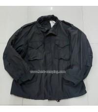 เสื้อแจ็คเก็ตทหาร,Alpha,M65 สีดำcoat,cold weather,man\'s,field,(มือสอง)