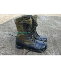 รองเท้าจังเกิ้ลเขียว,โรเสริท์,Olive Drab,Jungle Mil Spec Boot Ro Search(มือสองสภาพดี)
