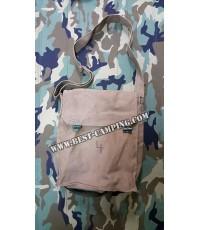กระเป๋าสะพายข้างทหารฝรั่งเศส,แนว Vintage กระเป๋าวินเทจ (เก่าเก็บสภาพดี)