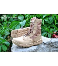 รองเท้าแทคติคอล,Tactical Boots HW07 Ultralight DESERT  Four seasons