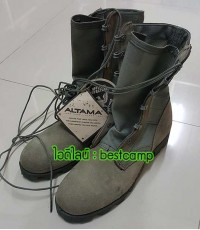 รองเท้าจังเกิ้ลเขียว,โรเสริท์,(sage green,jungle US Ro-Search),รองเท้าทหาร, ALTAMA