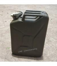 ถังน้ำมันติดรถจิ๊ปความจุ 20 ลิตร (20 L) ใหม่เก่าเก็บ