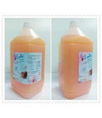 โฟมอาบน้ำ,สบู่เหลวอาบน้ำB-Clean สีส้มมุก 3.8L