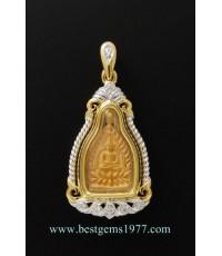 M599-2308 เหรียญเจ้าสัวทองคำ หลวงพ่อคูณ