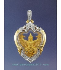 M543-1039 ครุฑทองคำ รุ่นมหาเศรษฐ๊ หลวงพ่อวราห์ วัดโพธิ์ทอง