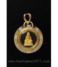 M562-1244 หลวงพ่อทวดเนื้อทองคำ รุ่นฉลองกรุงรัตนโกสินทร์ 220ปี