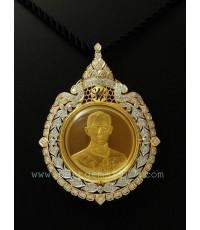 0150130EE งานกรอบเหรียญครองราชย์ 50ปี