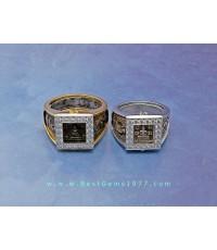 0190619BE งานแหวนตลับทองสำหรับบรรจุแหวนหลวงปู่ดู่วัดสะแก สามารถถอดแหวนด้านในออกได้