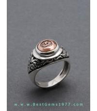TDOแหวนหัวนโม วัดมหาธาตุ จ.นครศรีธรรมราช ออกปี 2525 ตัวเรือนแหวนทำด้วยเงินแท้