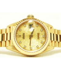 Rolex Date-just Lady size 18k