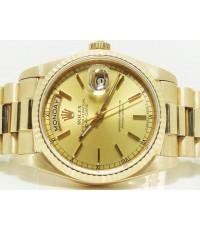 Rolex Day-Date 2step หน้าทอง