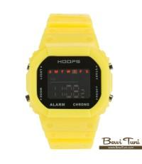 นาฬิกาข้อมือ Digital - HOOPS  สีเหลืองสดใส - HS 1232ME YL