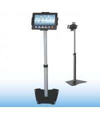 EP11035 ขาตั้งแท็บเล็ตแบบตั้งพื้น เสาปรับความสูงได้ กรอบแท็บเล็ตปรับขยายและล็อคได้
