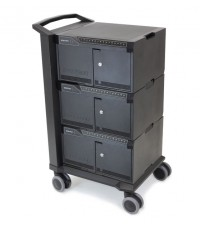 DM48-1004-3 Tablet Management Cart 48, with ISI