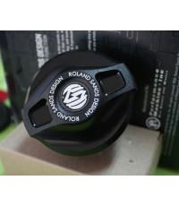 Roland Sands Design Gas Caps - Dummy Cap - Black Ops - Cafe 0703-0358