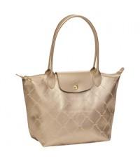 Pre-order กระเป๋า Longchamp  LM  Size  S  หูยาว  สี Pink Gold (Or Rose) จัดส่งฟรี EMS ค่ะ